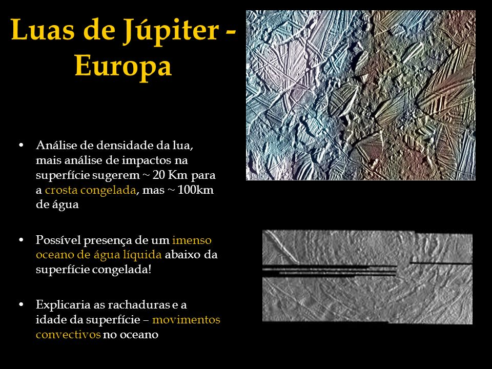 Luas de Júpiter - Europa