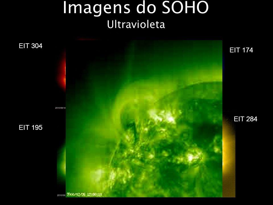 Imagens do SOHO Ultravioleta