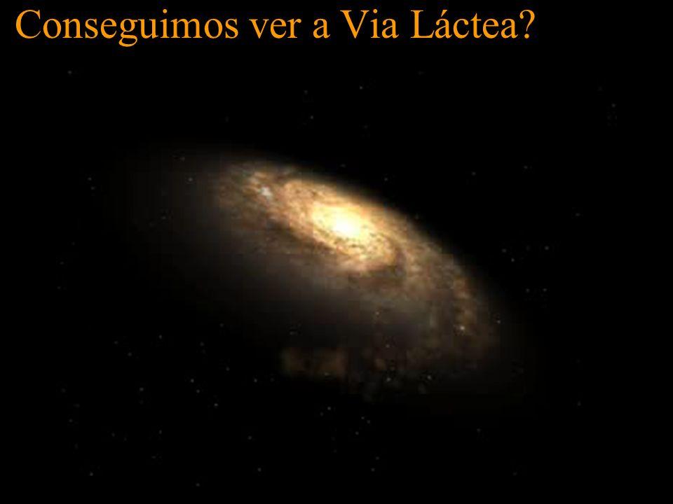 Conseguimos ver a Via Láctea