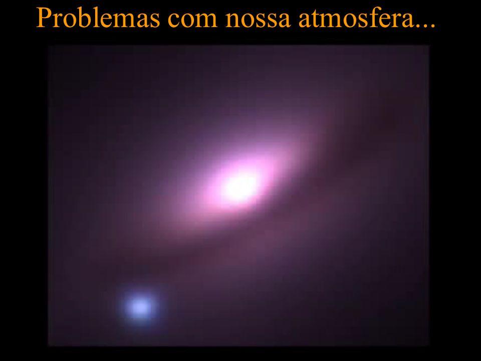 Problemas com nossa atmosfera...