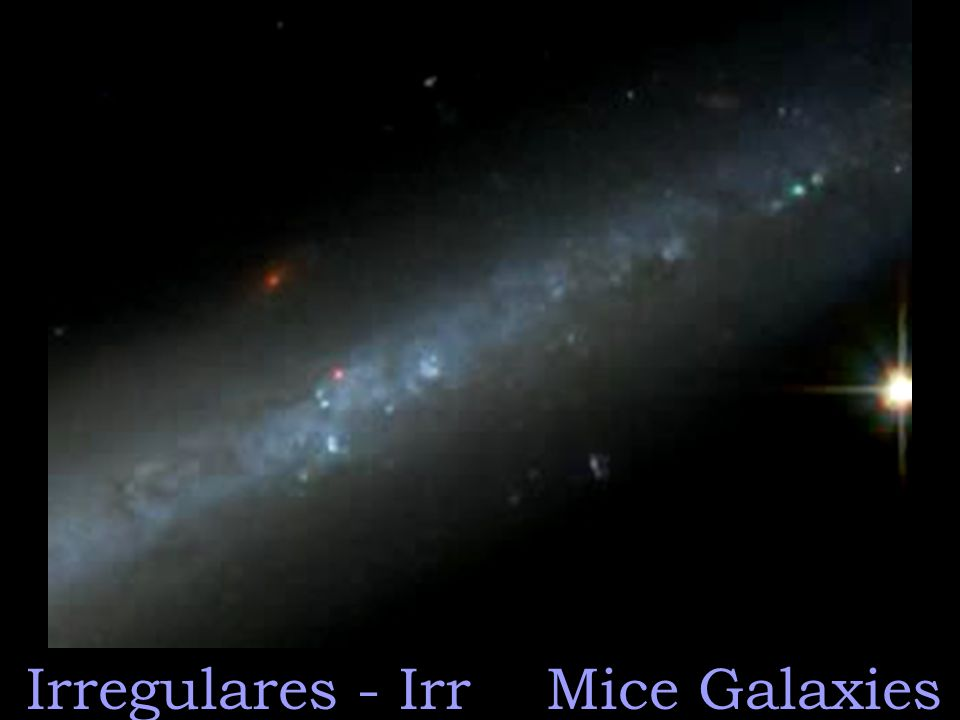 Irregulares - Irr Mice Galaxies