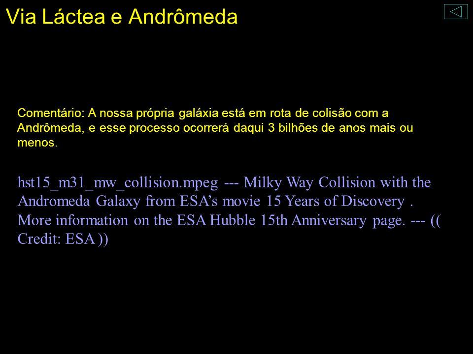 Via Láctea e Andrômeda