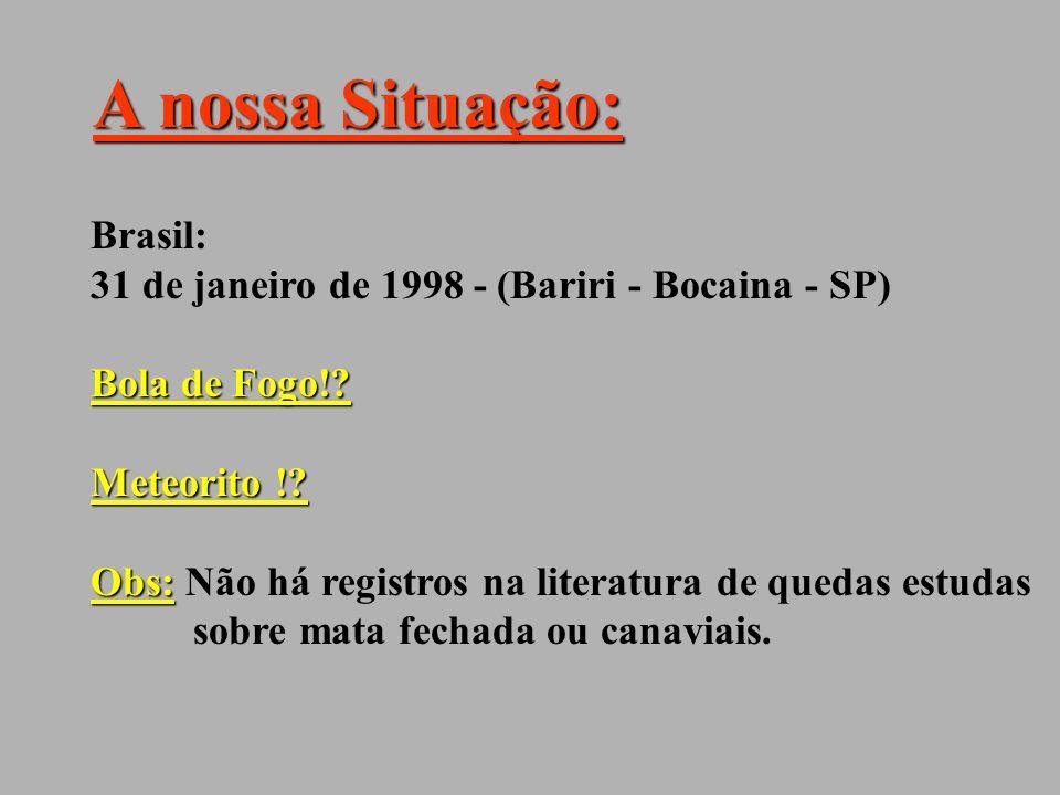 A nossa Situação: Brasil: