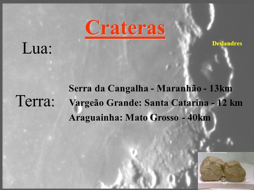 Crateras Lua: Terra: Serra da Cangalha - Maranhão - 13km