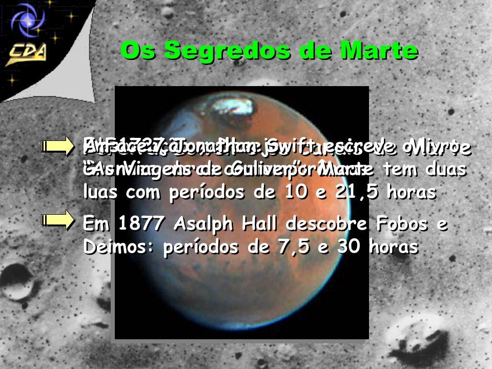 Os Segredos de Marte Percival Lowell e os canais de Marte A Face