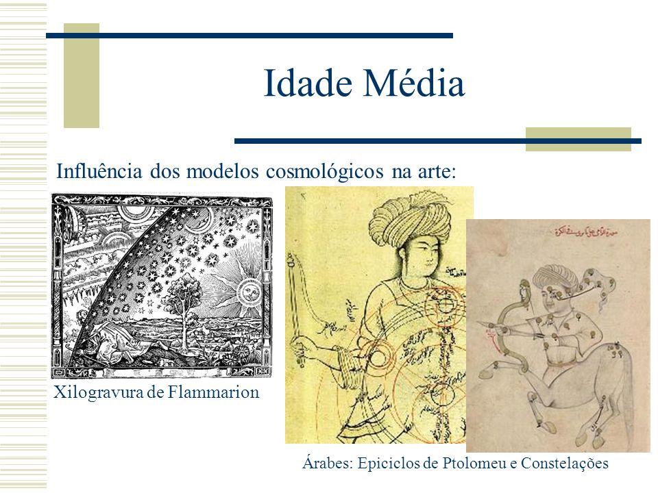 Idade Média Influência dos modelos cosmológicos na arte: