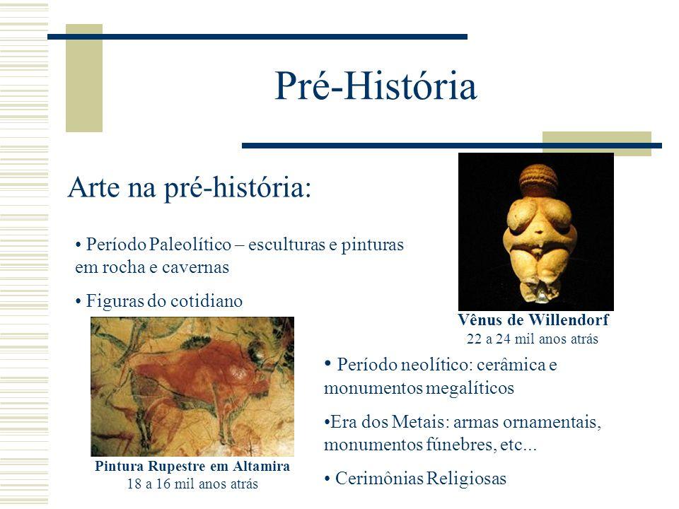 Pré-História Arte na pré-história: