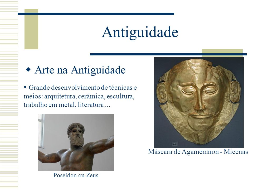Máscara de Agamemnon - Micenas