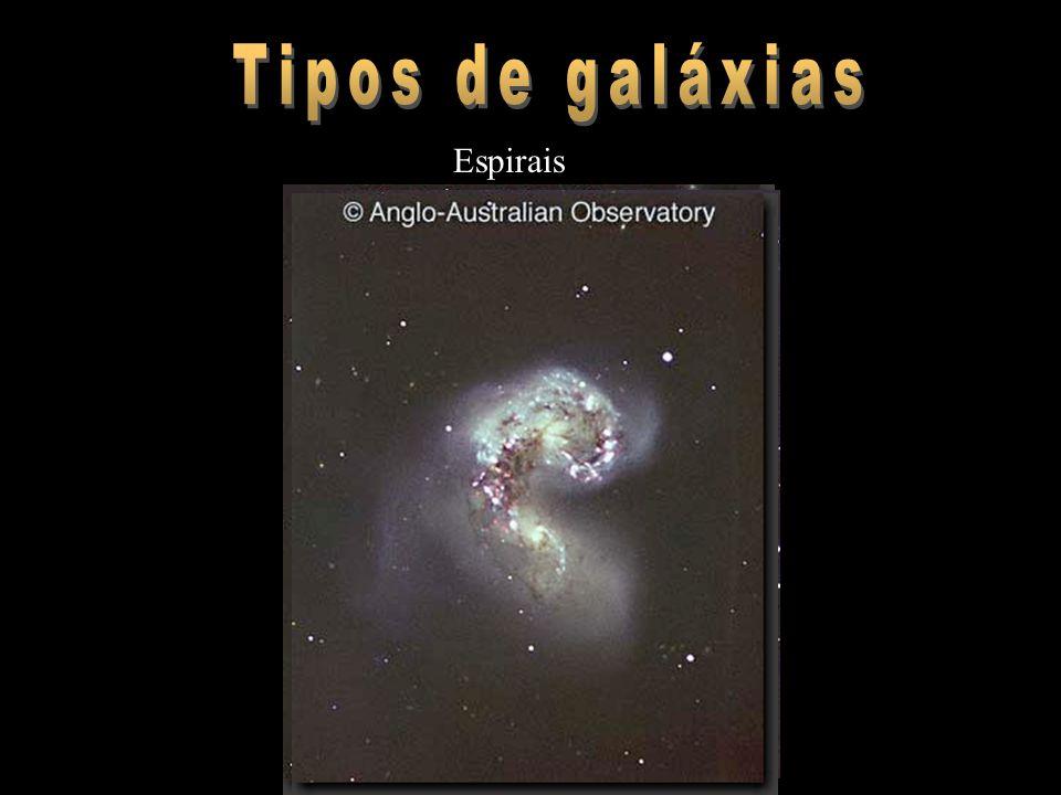 Tipos de galáxias Espirais