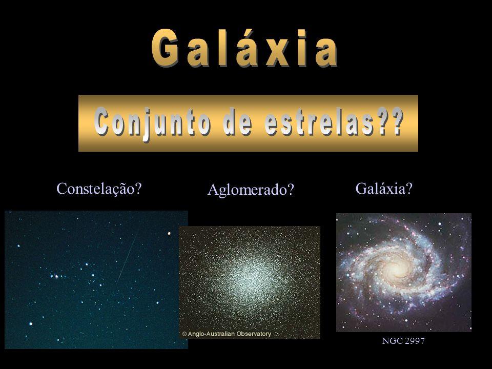 Galáxia Conjunto de estrelas Constelação Aglomerado Galáxia