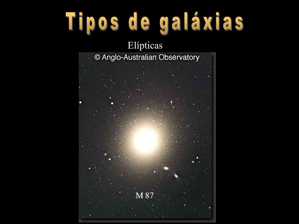 Tipos de galáxias Elípticas M 87