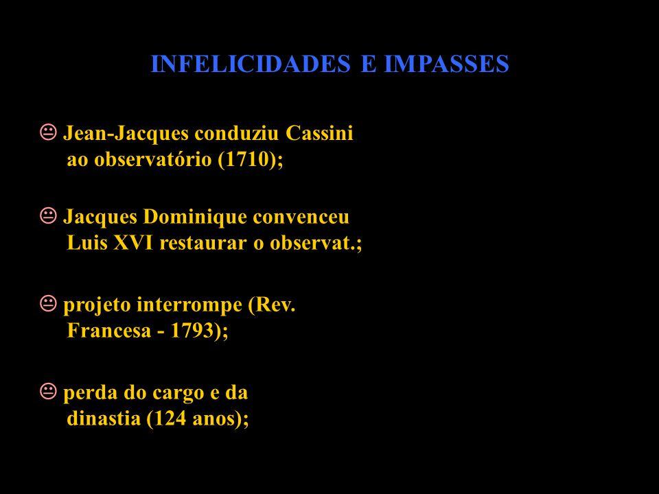 INFELICIDADES E IMPASSES