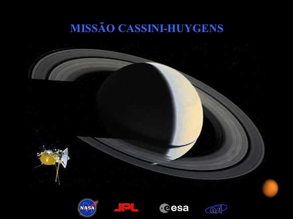 MISSÃO CASSINI-HUYGENS