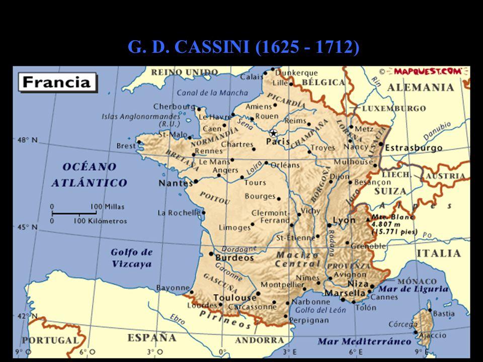 G. D. CASSINI (1625 - 1712)