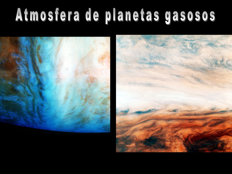 Atmosfera de planetas gasosos