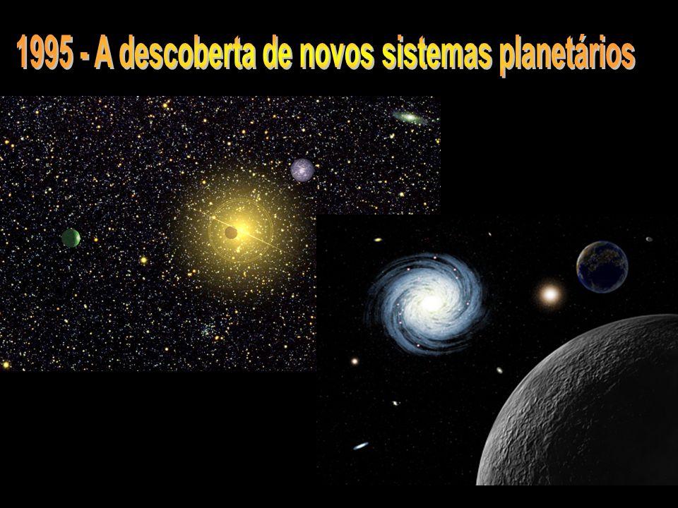 1995 - A descoberta de novos sistemas planetários