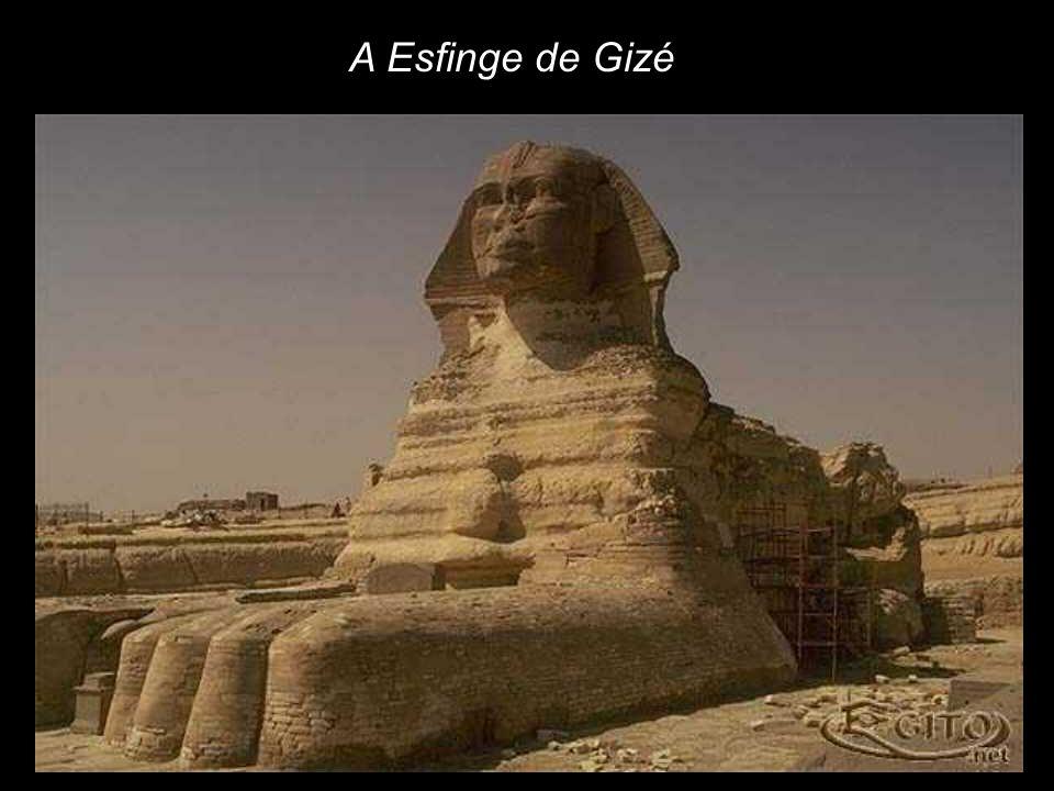A Esfinge de Gizé