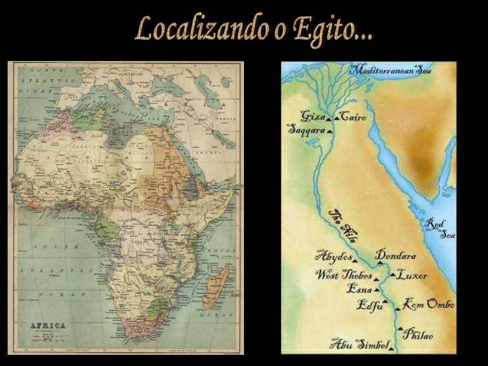 Localizando o Egito...
