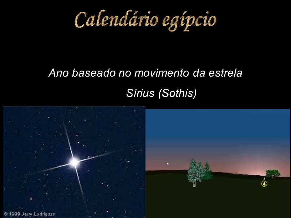 Ano baseado no movimento da estrela