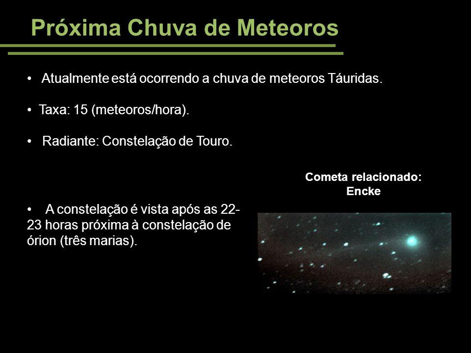 Próxima Chuva de Meteoros