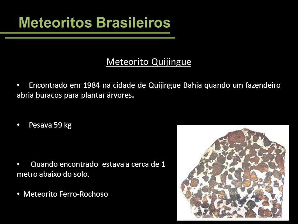 Meteoritos Brasileiros