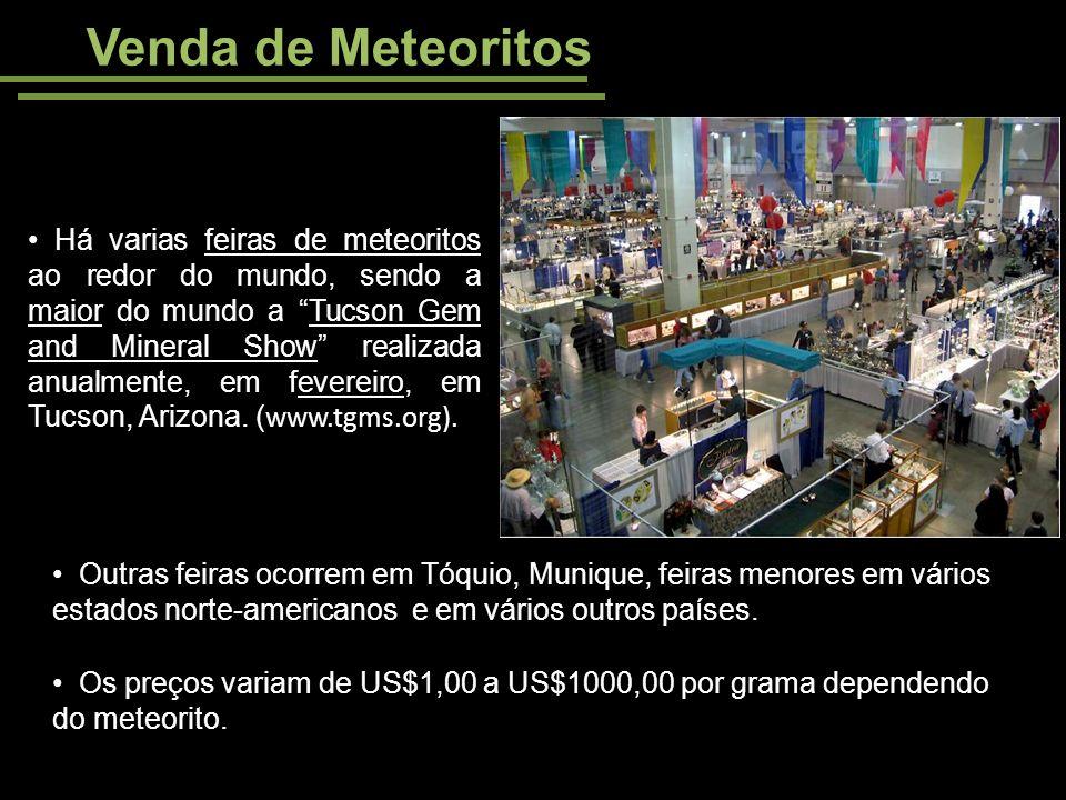 Venda de Meteoritos