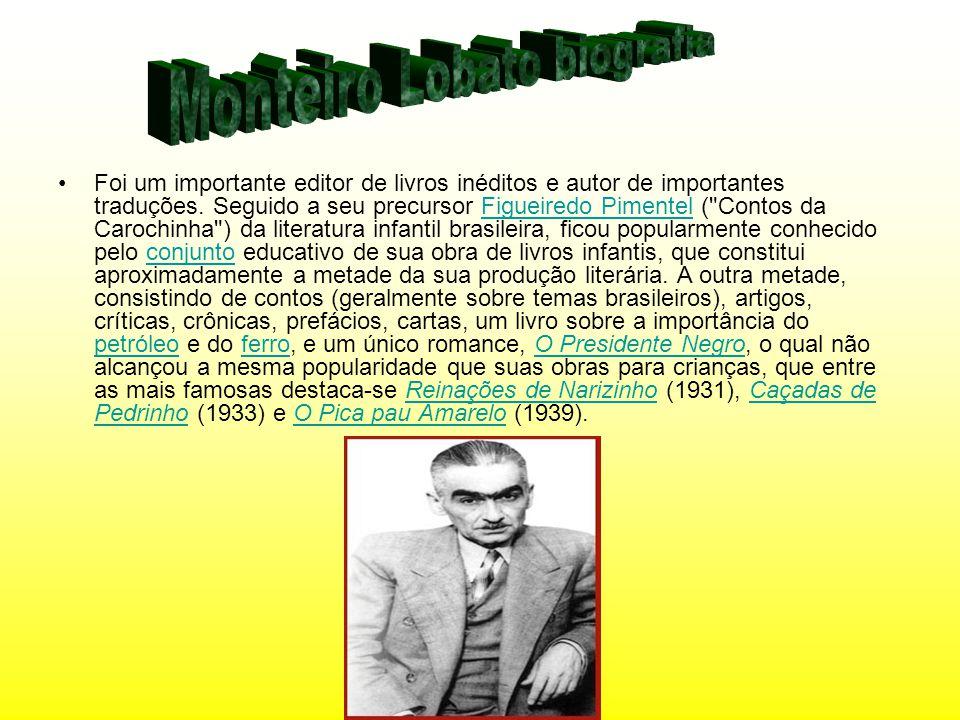 Monteiro Lobato biografia