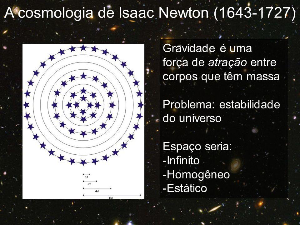 A cosmologia de Isaac Newton (1643-1727)