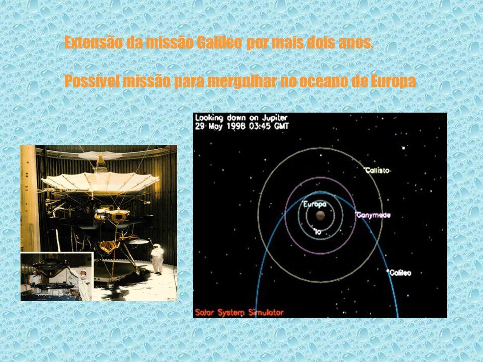 Extensão da missão Galileo por mais dois anos.
