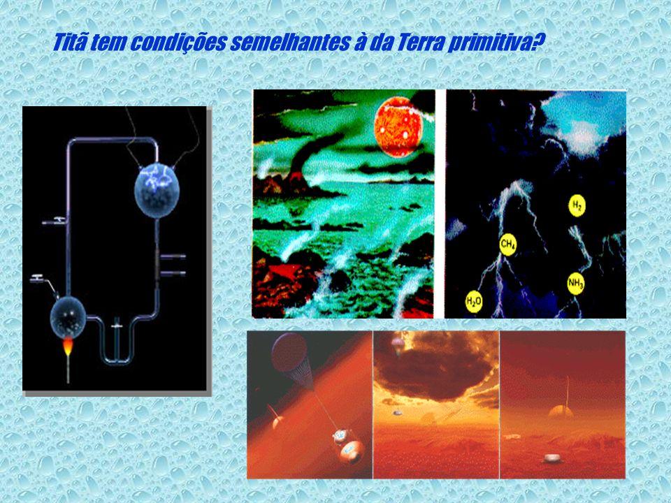 Titã tem condições semelhantes à da Terra primitiva