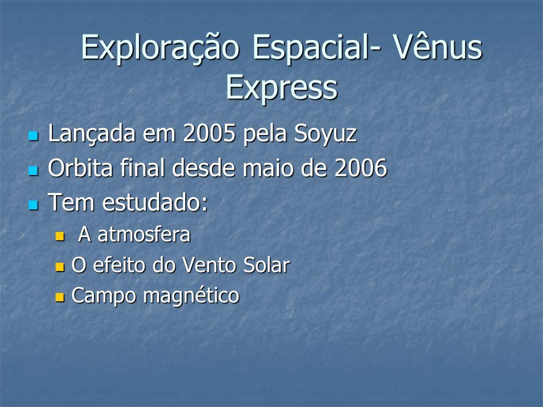 Exploração Espacial- Vênus Express