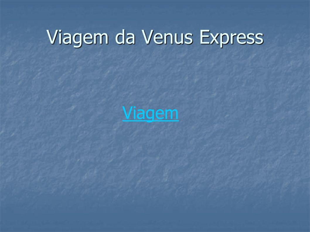 Viagem da Venus Express