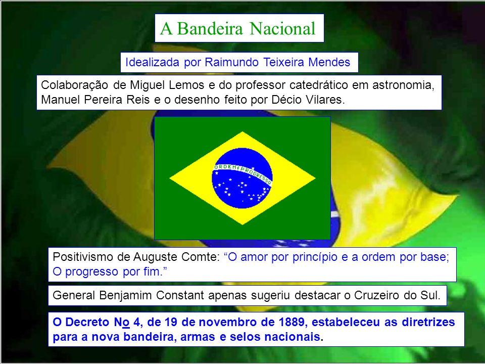 A Bandeira Nacional Idealizada por Raimundo Teixeira Mendes