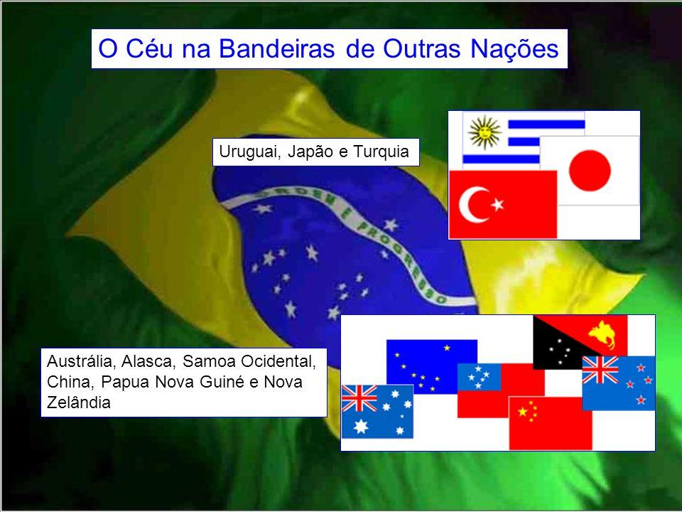 O Céu na Bandeiras de Outras Nações