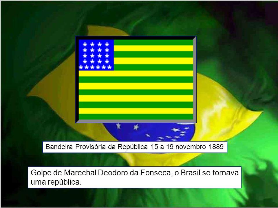 Golpe de Marechal Deodoro da Fonseca, o Brasil se tornava