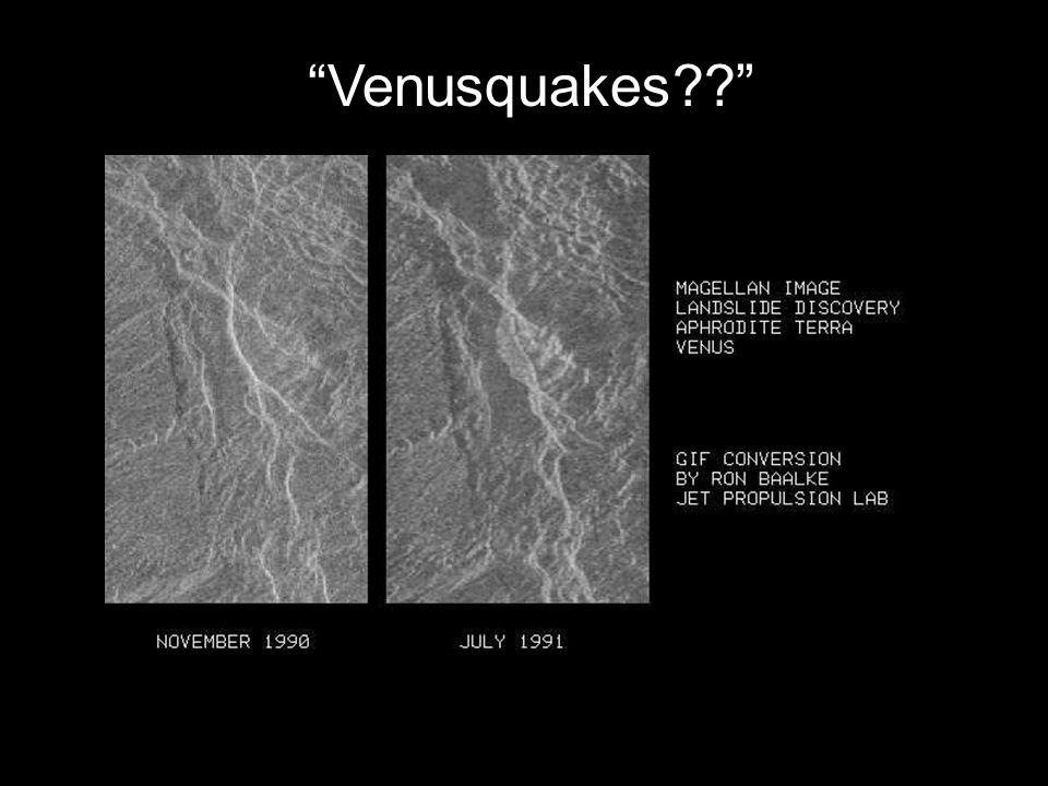 Venusquakes