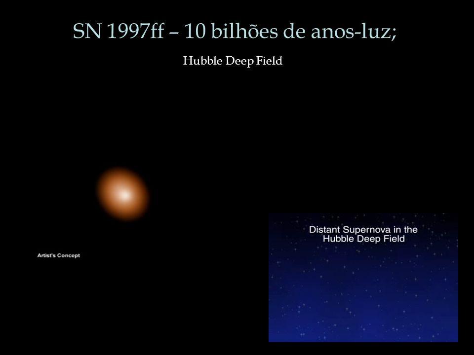 SN 1997ff – 10 bilhões de anos-luz;