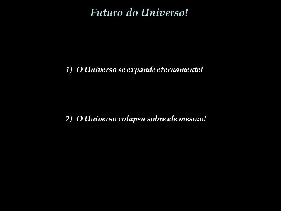 Futuro do Universo! 1) O Universo se expande eternamente!
