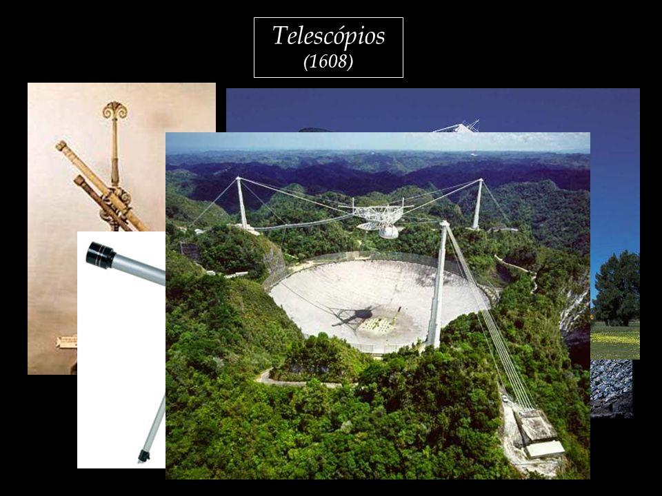 Telescópios (1608) - Telescópio usado por Galileu 1608;