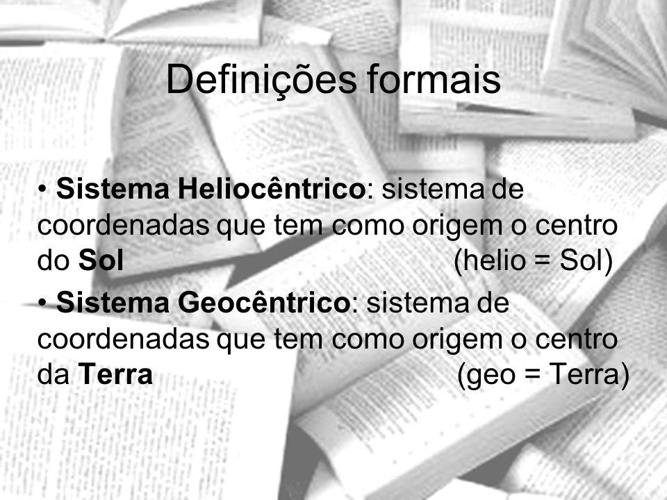 Definições formais