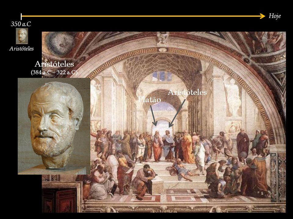 Aristóteles Aristóteles Platão Hoje 350 a.C Aristóteles