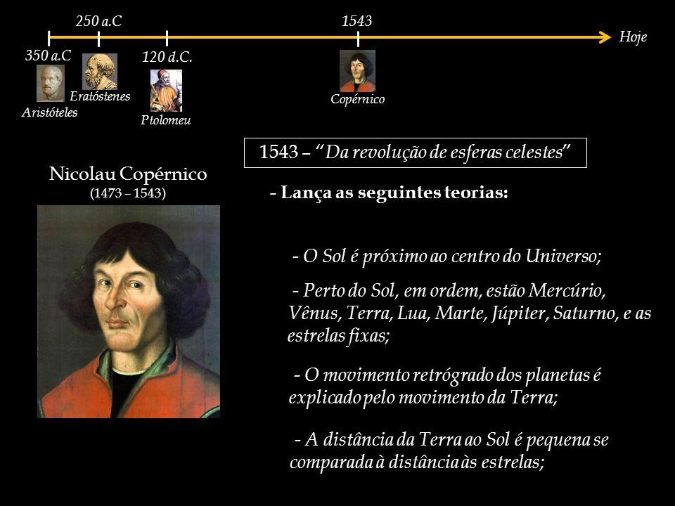1543 – Da revolução de esferas celestes