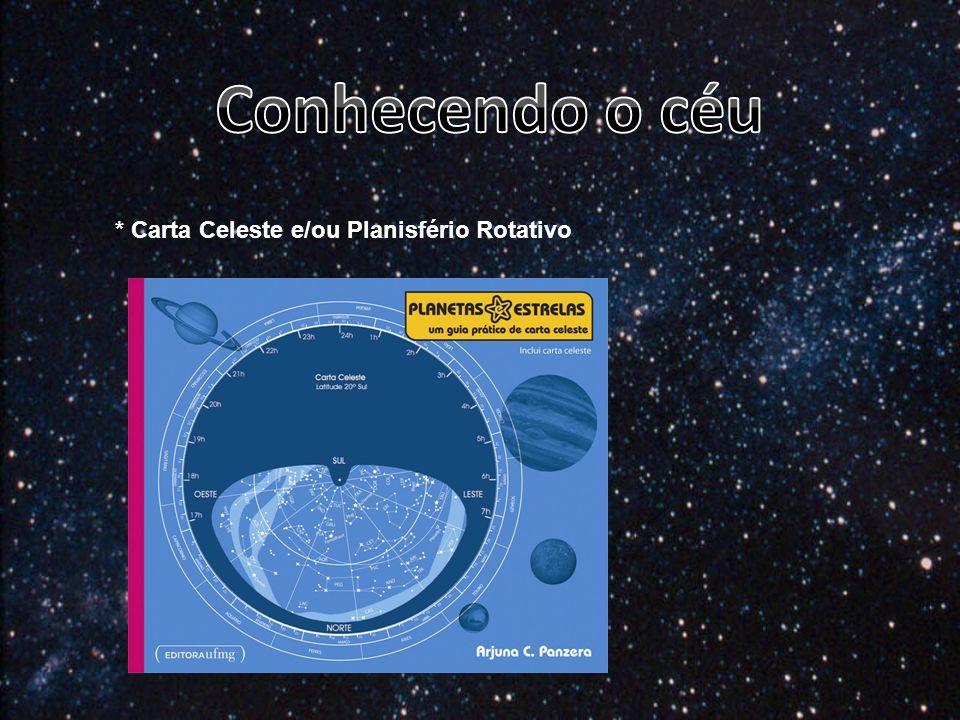 Conhecendo o céu * Carta Celeste e/ou Planisfério Rotativo