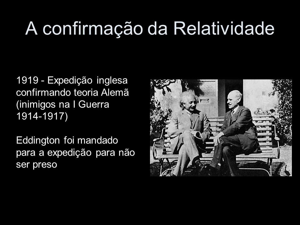 A confirmação da Relatividade