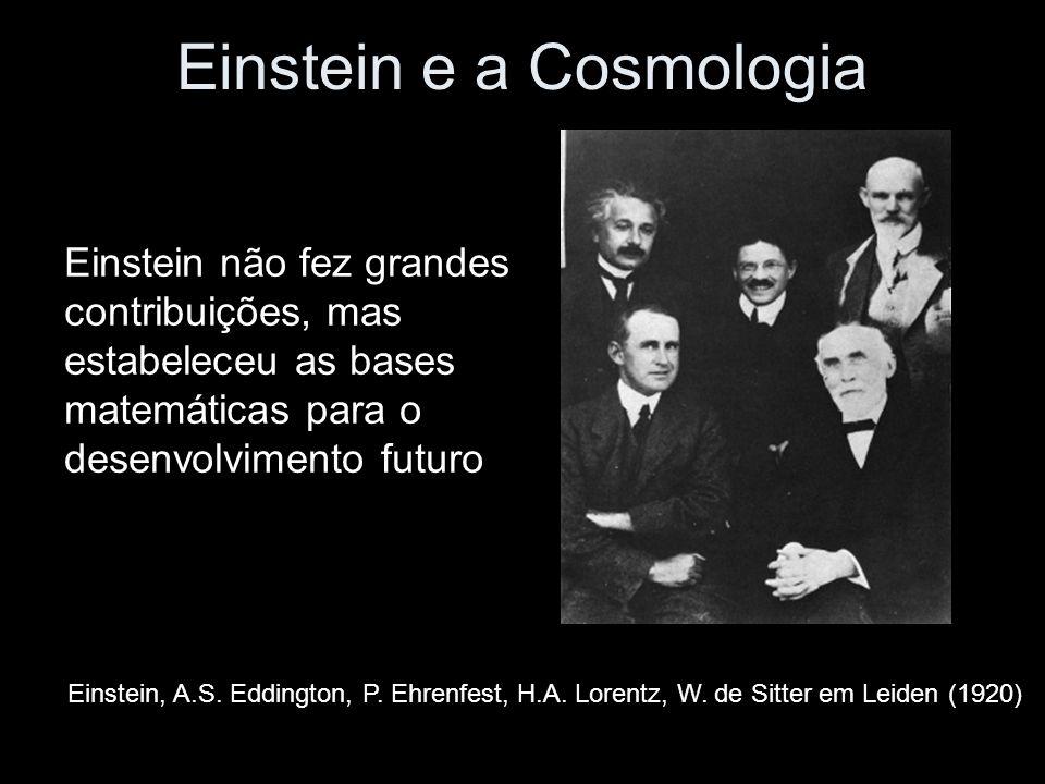 Einstein e a Cosmologia