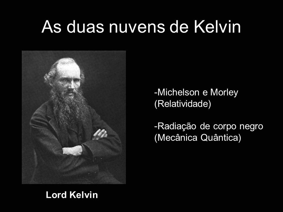 As duas nuvens de Kelvin