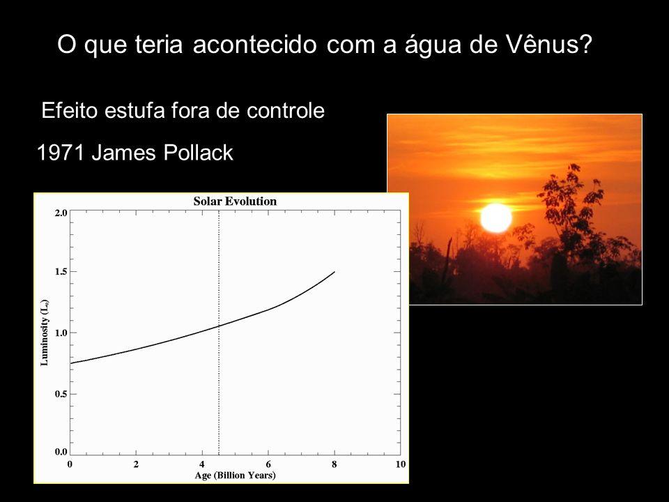 O que teria acontecido com a água de Vênus