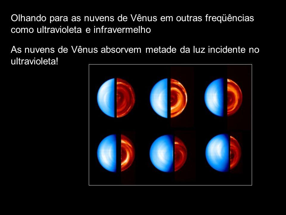 Olhando para as nuvens de Vênus em outras freqüências