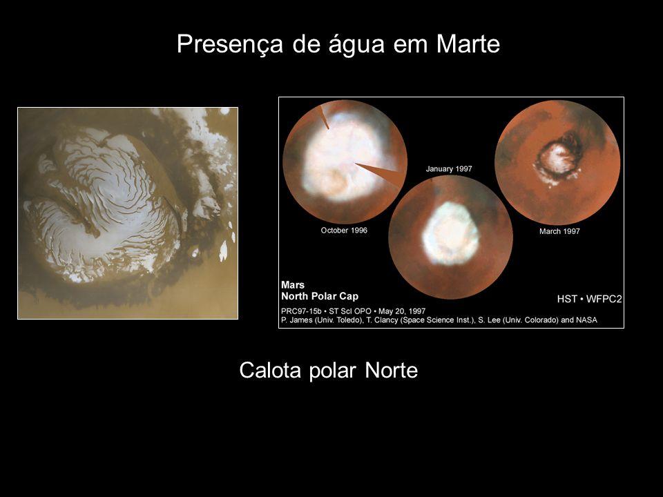 Presença de água em Marte