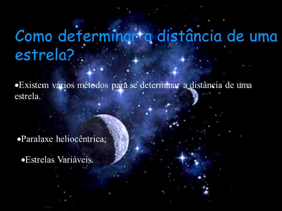 Como determinar a distância de uma estrela